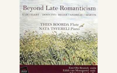 Beyond late Romanticism