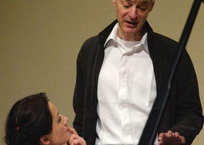 Presentatie van 'Beyond late Romanticism' met Nata Tsvereli