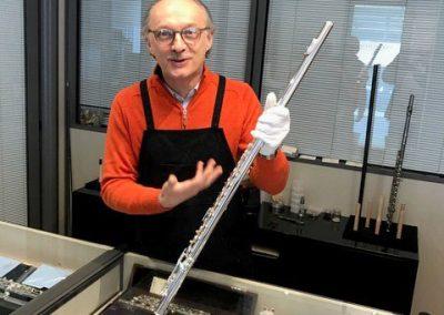 L'acquisto del mio nuovo flauto in sol (Kotato & Fukushima), da Edi Savoldi