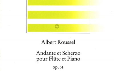Roussel Andante Scherzo